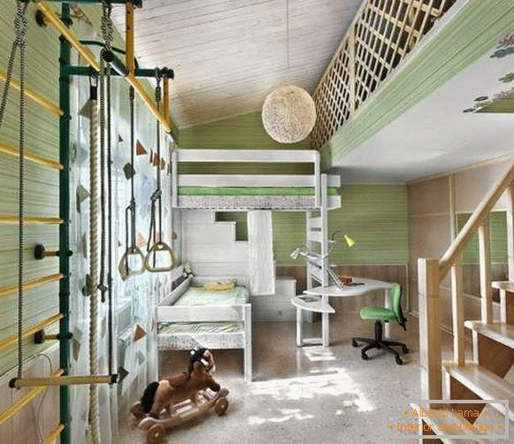97c1429d7142 Farby v interiéri detskej izby  9 krásnych kombinácií s