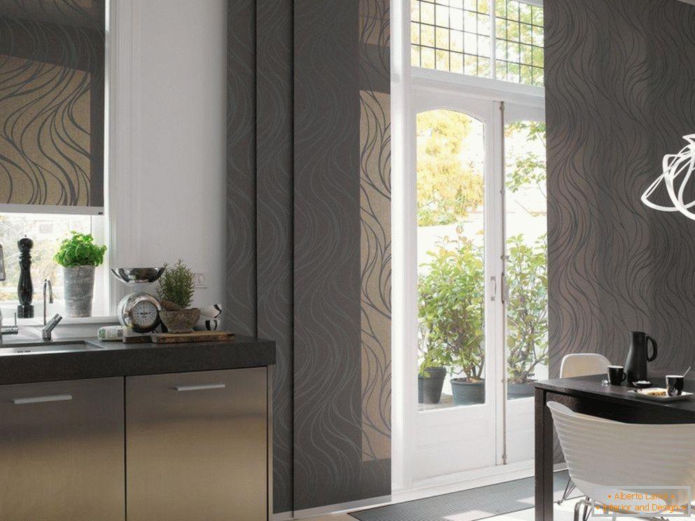 4c9b432c68cd Designové závesy pre kuchyňu - 80 moderných možností