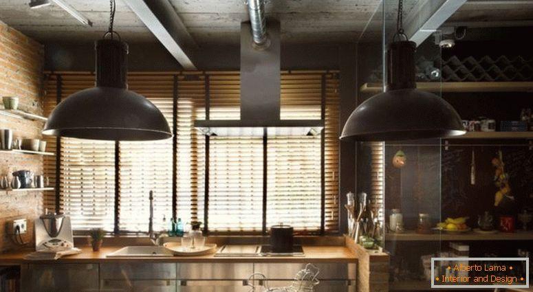 ac49b9605a11 Vo všeobecnosti môže byť loft kuchyňa opísaná ako úspešná kombinácia starého  a nového