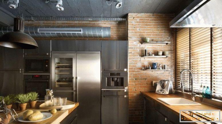 89b9a699c499 Kuchyňa v podkroví - fotky najlepších riešení pre štýlovú