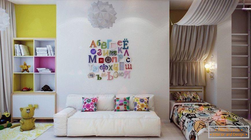 b3e0f157667f Moderné nápady interiérového dizajnu detskej izby